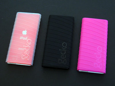 First Look: Gecko Gear gecko nano glove for iPod nano 2nd Generation