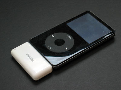Review: Griffin Technology AirClick Remote Control for iPod with Dock Connector