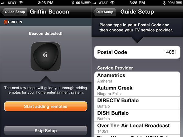 Review: Griffin Beacon Universal Remote Control