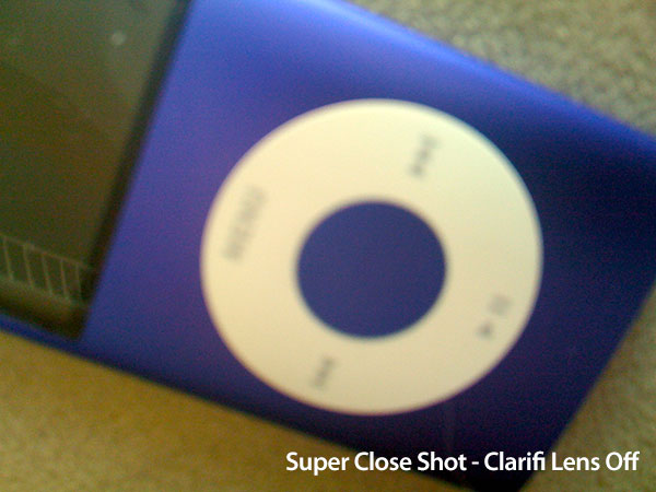 Review: Griffin Clarifi Case with Built-in Close-Up Lens for iPhone 3G 12