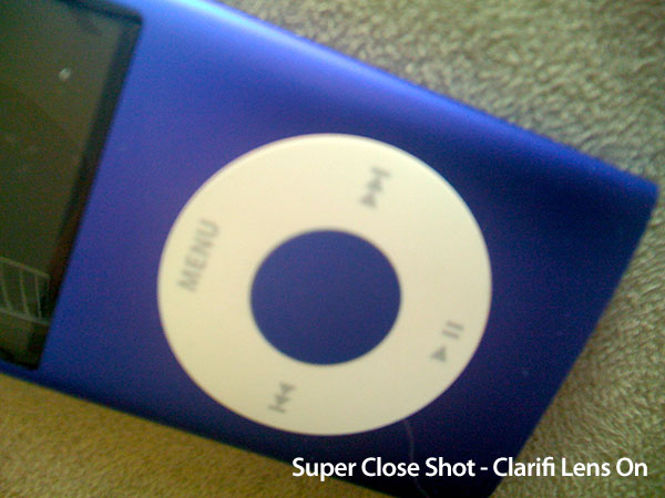 Review: Griffin Clarifi Case with Built-in Close-Up Lens for iPhone 3G 13