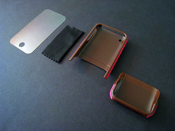 Review: Griffin Elan Form Hard-Shell Leather Case for iPhone 3G