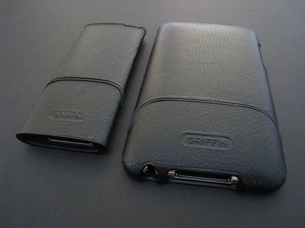 Review: Griffin Elan Form Hard-Shell Leather Cases for iPod nano 4G + iPod touch 2G