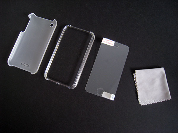 Review: Griffin iClear + iClear with Belt Clip and Armband for iPhone 3G
