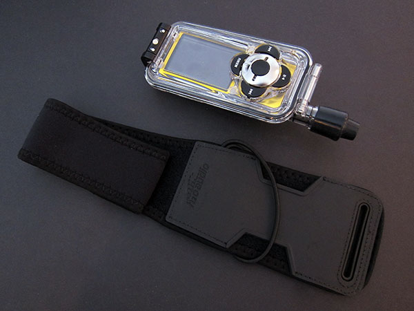 Review: H2O Audio Capture Waterproof Case for iPod nano (5th Gen) 2