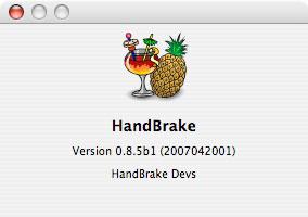 Review: HandBrake (v.0.8.5b1) DVD-to-MPEG-4 Converter