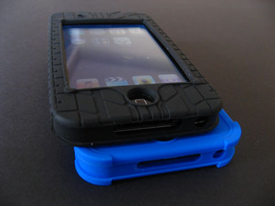 Review: ifrogz Silicone Wrapz and Treadz for iPod touch