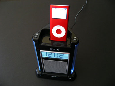 Review: iHome iH4 Single-Alarm Clock System for iPod 1