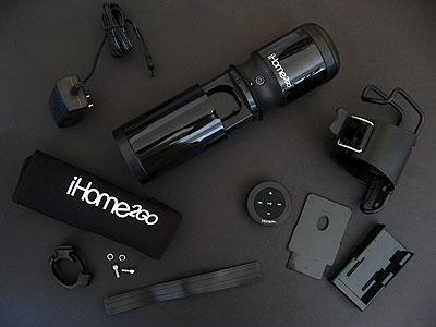 First Look: iHome iH85 iHome2Go Cycler Bike-to-Beach Speaker for iPod