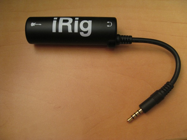 Review: IK Multimedia Amplitube iRig for iPhone, iPod touch and iPad 1