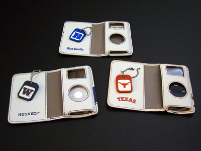 First Look: Incase University Collection Nano Wallets for iPod nano