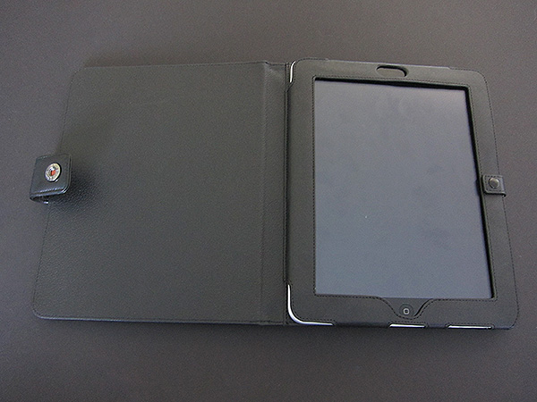 First Look: I-nique Tuff-Luv Bi-Axis, Multi-View + Pull-Tab Leather Cases for iPad