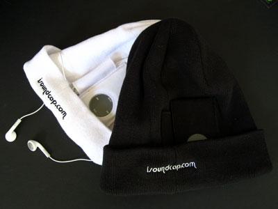 First Look: iSoundCap Ski Cap for iPod nano