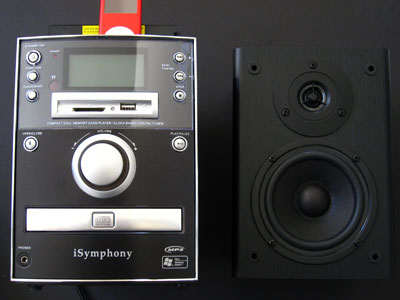 First Look: iSymphony M1 Micro Music System