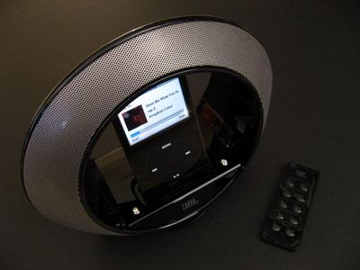Review: JBL Radial Micro Superior Loudspeaker Dock for iPod 1
