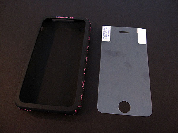 First Look: Sanrio/Spectra Hello Kitty Wrap for iPhone 3G/3GS