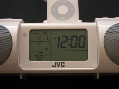 Review: JVC RA-P10 Portable Audio System/Clock Radio with iPod Dock