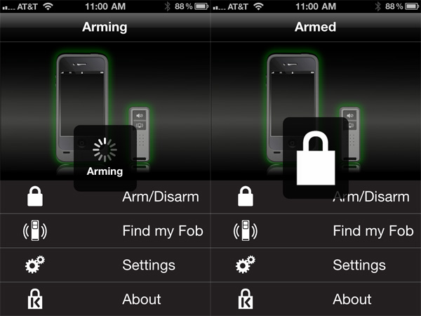 Review: Kensington BungeeAir Power Wireless Security Tether + Battery for iPhone 4