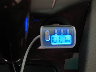 Review: Kensington Digital FM Transmitter/Auto Charger for iPod