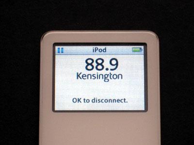 Review: Kensington Pico FM Transmitter for iPod