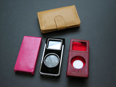 Kroo Cayman, Leather, Minimalist and Nanostruct Cases for iPod nano