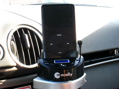 Review: Macally BTCup Full Channel FM Transmitter with Built-in Bluetooth Hands-Free