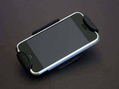 First Look: Macally mClip-X Genuine Leather Swivel Belt Clip and Stand for iPhone 1