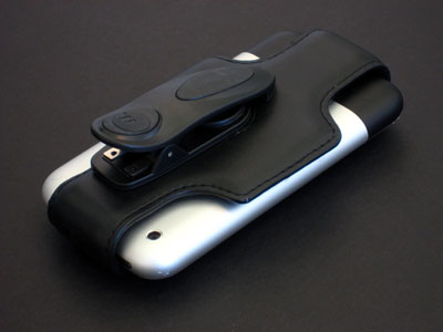 First Look: Macally mClip-X Genuine Leather Swivel Belt Clip and Stand for iPhone
