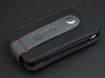 Review: Macally mPouch Protective Leather Pouch and Stand for iPhone 1