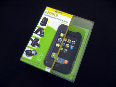 Review: Macally mPouch Protective Leather Pouch and Stand for iPhone
