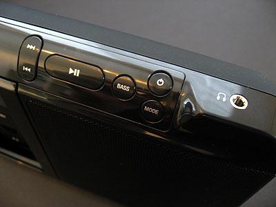 Review: Memorex iTrek Mi3000 Portable Speaker for iPod 7