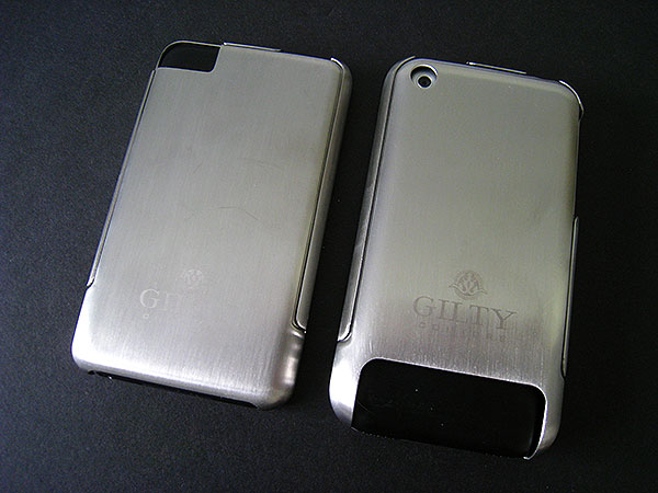Review: Metallo Design Gilty Couture Stainless Steel Cases for iPod touch + iPhone