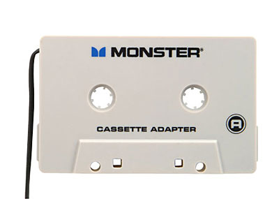 Review: Monster iCarPlay Cassette Adapter for iPod/iPhone 1