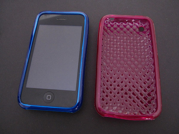 Review: More Thing Swirling, Handwoven + Diamond Cases for iPhone 3G + iPod nano 4G