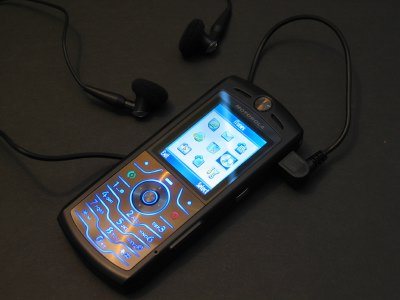 First Looks Special: Motorola SLVR L7 iTunes Phone (photos inside) 1