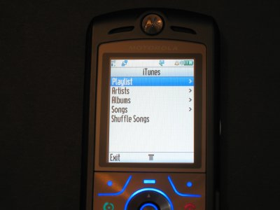 Review: Motorola SLVR L7 iTunes Mobile Phone