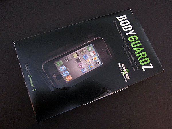 First Look: NLU Products BodyGuardz for iPhone 4