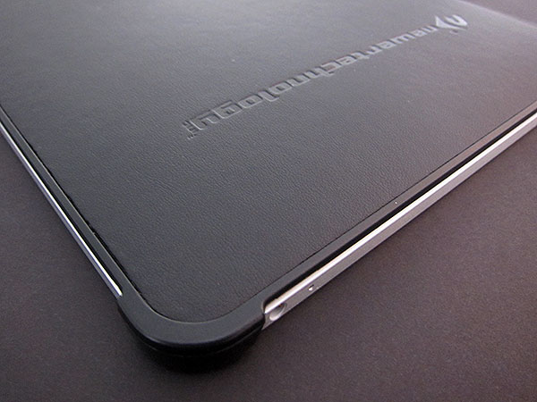 Preview: Newer Technology NuGuard Clear and Leather for the Apple iPad