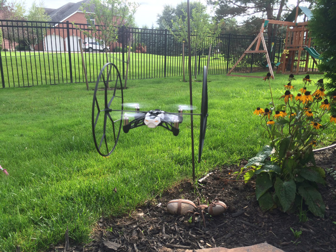 Review: Parrot Minidrone Rolling Spider 8