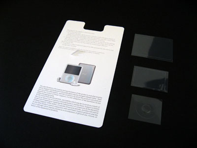 First Look: Power Support Crystal Film Set for iPod nano video