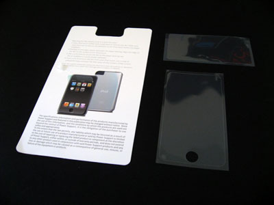 First Look: Power Support Crystal Film Set for iPod touch