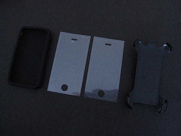 First Look: Power Support Silicone Jacket for iPhone 3G