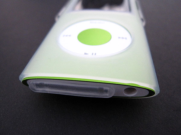 First Look: Power Support Crystal Jacket + Silicone Jacket for iPod nano 4G