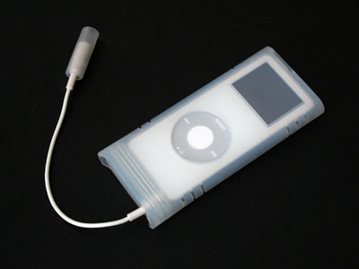 Power Support Water-Resistant Case for iPod nano