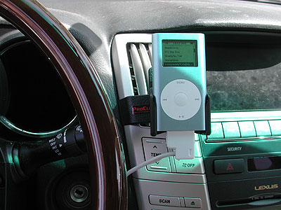 Review: ProClip in-car holder for iPod