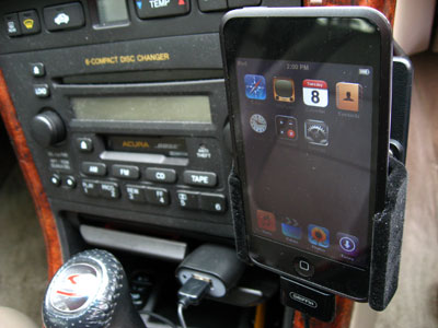 Review: ProClip Padded Holder with Tilt Swivel for iPod nano & iPod touch 1