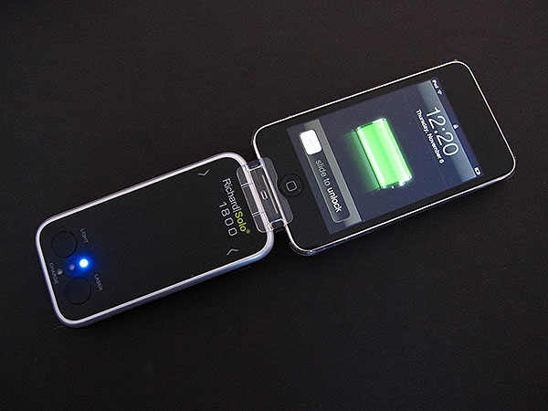 Review: RichardSolo 1800 Smart Backup Battery with Laser Pointer & LED Flashlight