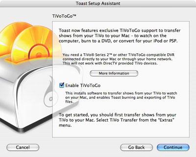 Review: Roxio Toast 8 Titanium with TiVoToGo