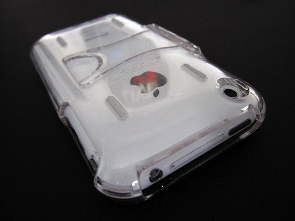 Review: Scosche KickBack Clear Case for iPhone 3G