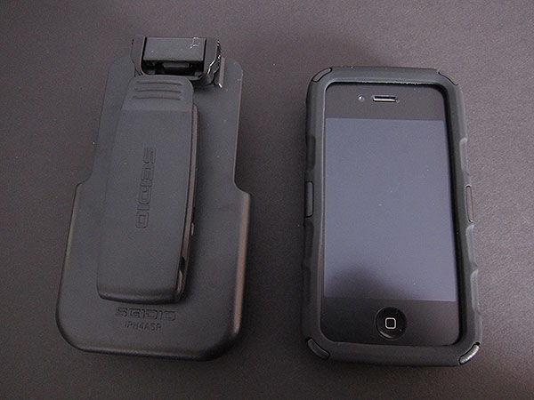 Review: Seidio Innocase Rugged Holster Combo for iPhone 4